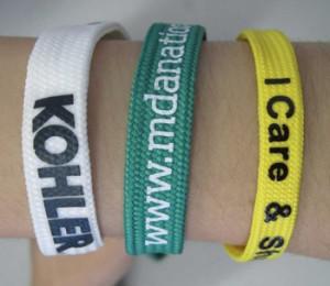 Polyester armband