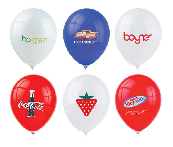 Bedrukte ballonnen bestellen met uw tekst en logo