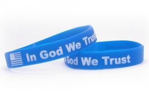 Religieuze silicone armbandjes