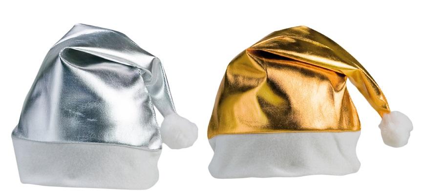 kerstmuts goud en zilver