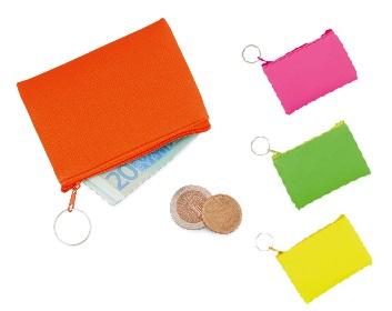 fluor portemonnees pvc