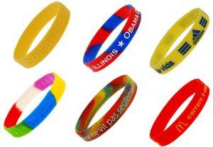 silicone armbandjes bedrukken