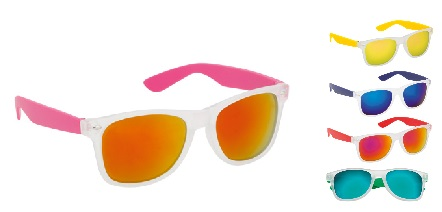 zonnebrillen bedrukken gekleurd