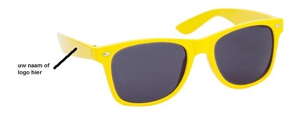 zonnebrillen bedrukken met logo