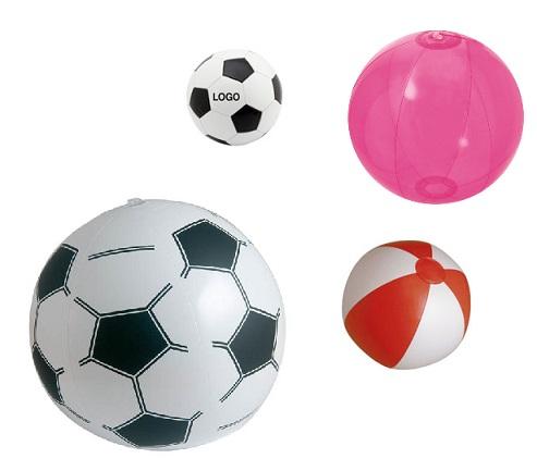 strandballen met logo