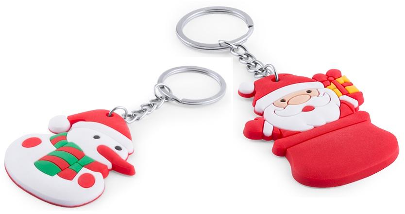 kerst-sleutelhangers