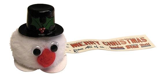 kerst winnie sneeuwpop