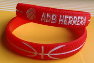 basketbal silicone armband 2
