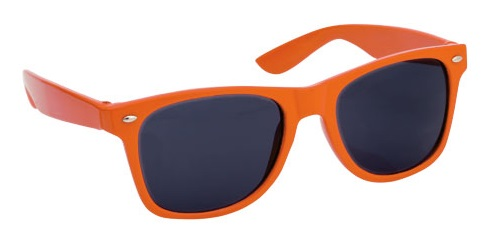 oranje zonnebrillen