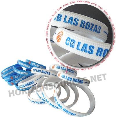basketbal siliconen armbandjes