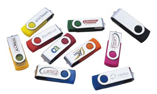 Verkoop uw merk effectief met bedrukte USB-sticks