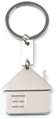 sleutelhangers huis