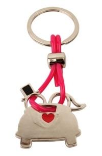 trouwbedankje sleutelhanger