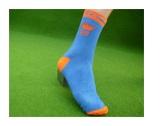 lange sokken bedrukken