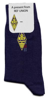 sokken met kopkaartje