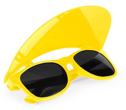 zonnebrillen met zonneklep