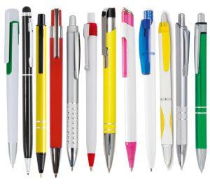 Pennen met opdruk