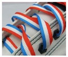 schoenveters nederlandse vlag