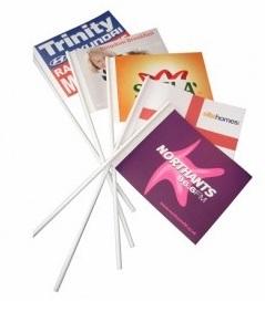 papieren vlaggetjes bedrukken