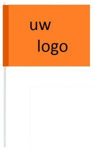 goedkope vlaggetjes met logo