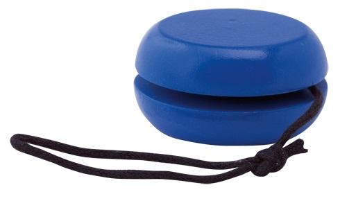 houten jojo blauw