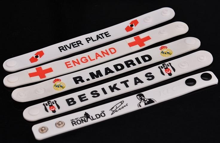 PVC armbandjes met logo