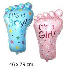 folie ballonnen baby