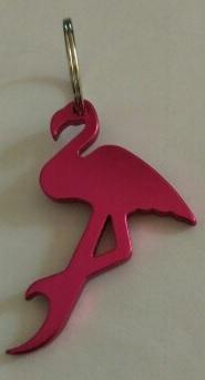 flesopener sleutelhanger flamingo