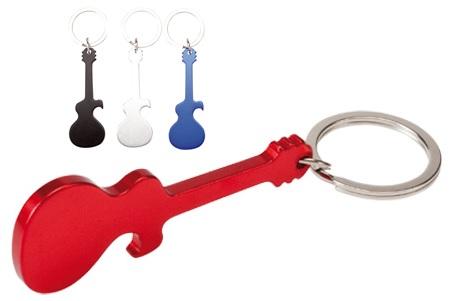 flesopener sleutelhanger gitaar