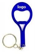 flesopener sleutelhanger tennis racket
