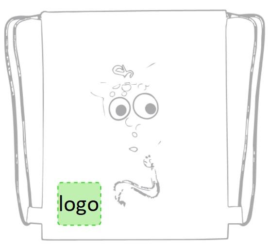 kinderrugzakjes dier met logo