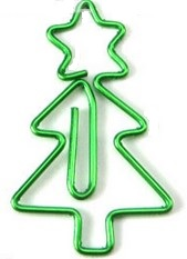 Paperclips kerstboom