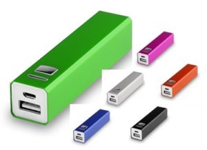 powerbanks aluminium