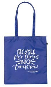 tassen van gerecycled plastic