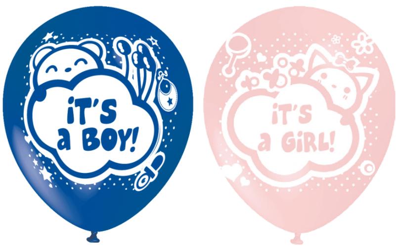 Baby shower ballonnen