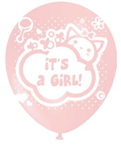 ballonnen baby meisje